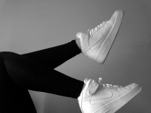 Imagem de nike, white, and style