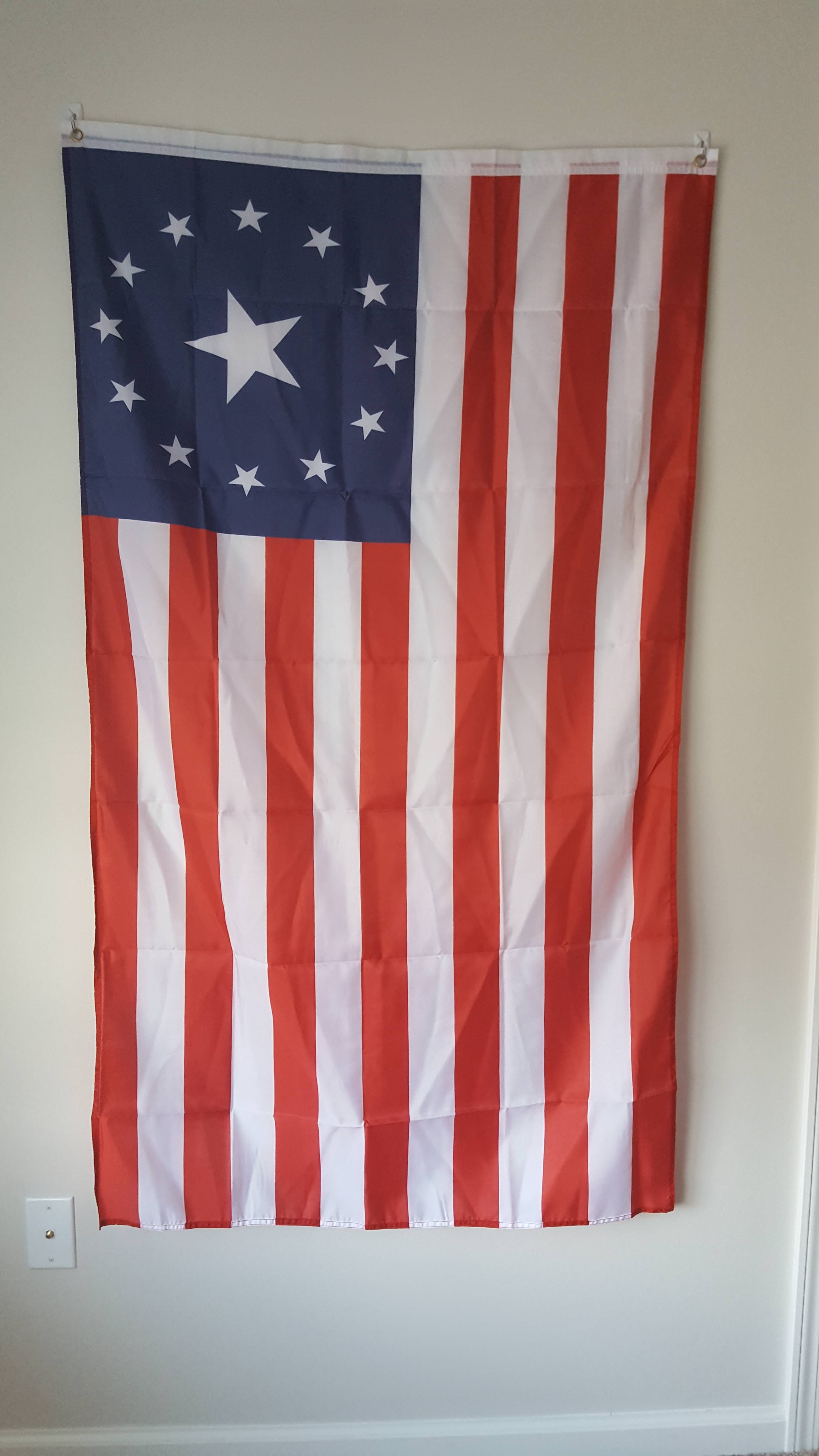 My fo4 US flag just got delivered couldn t be more pleased Fallout4