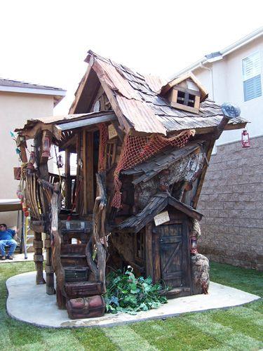 Custom Tree Houses Custom Owen s Bait Shop A wonderful ole