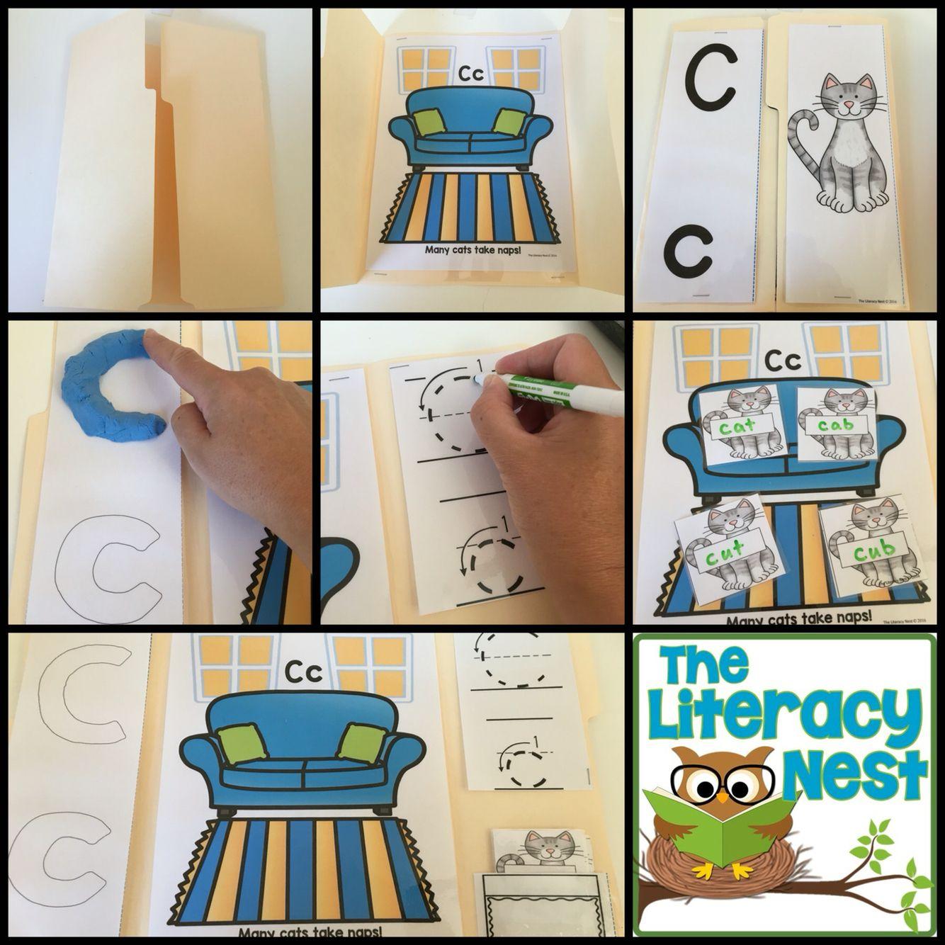 Alphabet Lapbooks Multisensory Reading Orton Gillingham