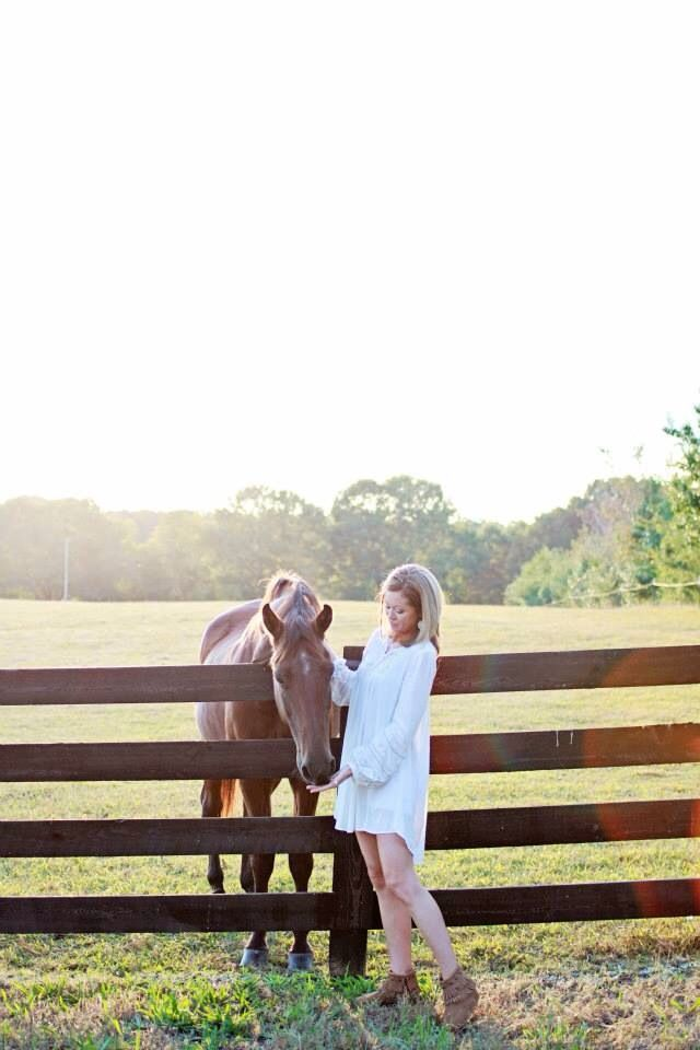 Gorgeous sunset session with a beautiful girl & a horse.   www.facebook.com/haleydawnphotography
