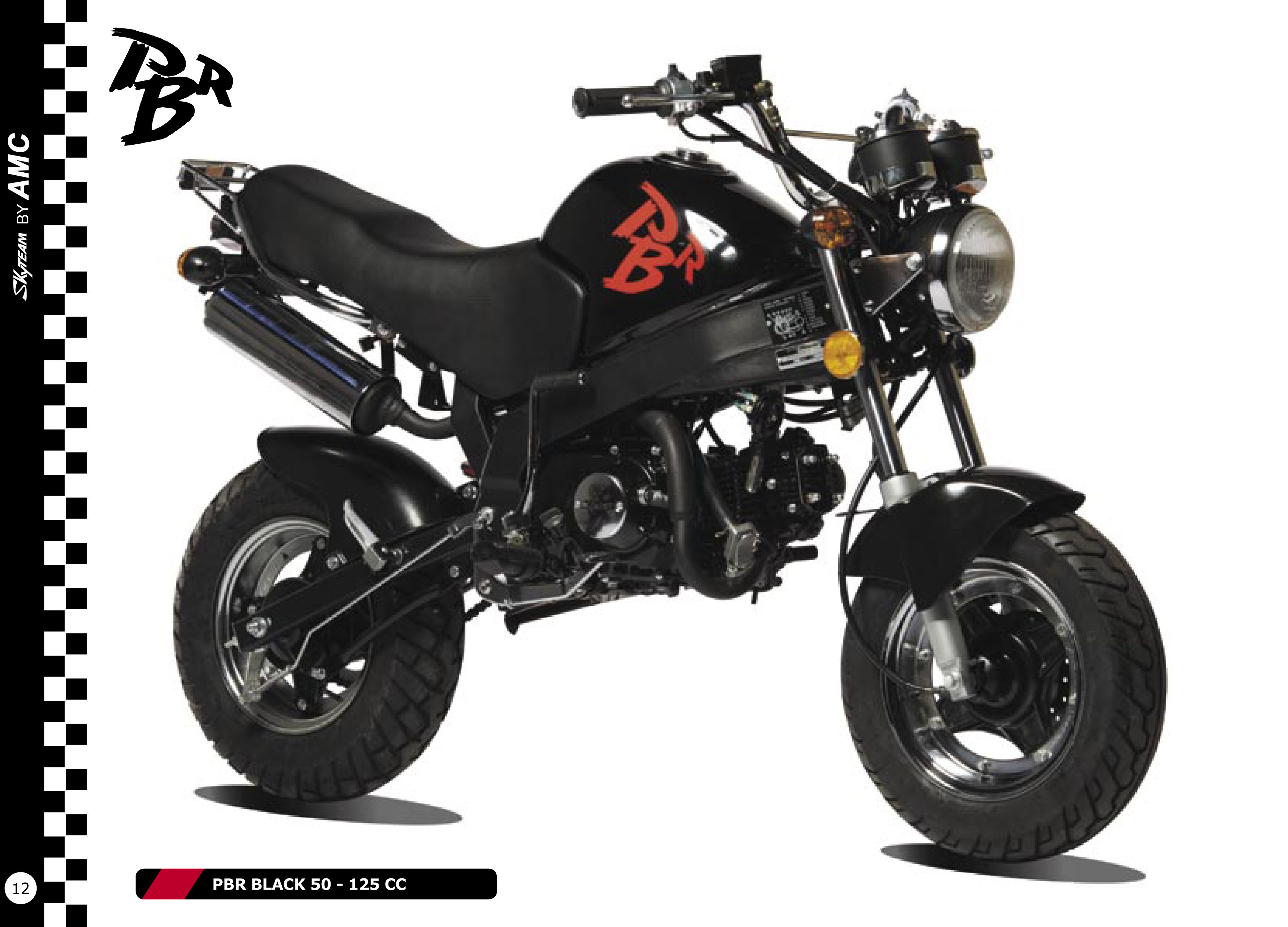 skyteam moto 50cc skymax dax club dax pinterest. Black Bedroom Furniture Sets. Home Design Ideas