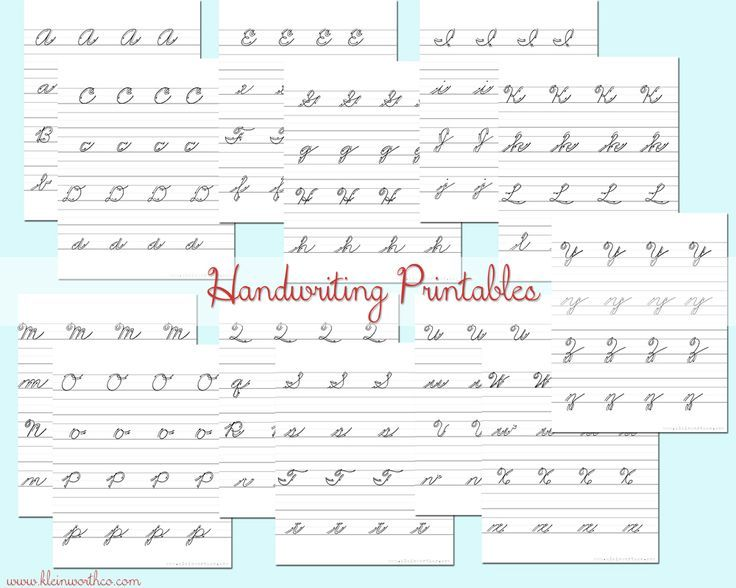 Donna Young's Cursive D Handwriting Lessons - letters, words ...