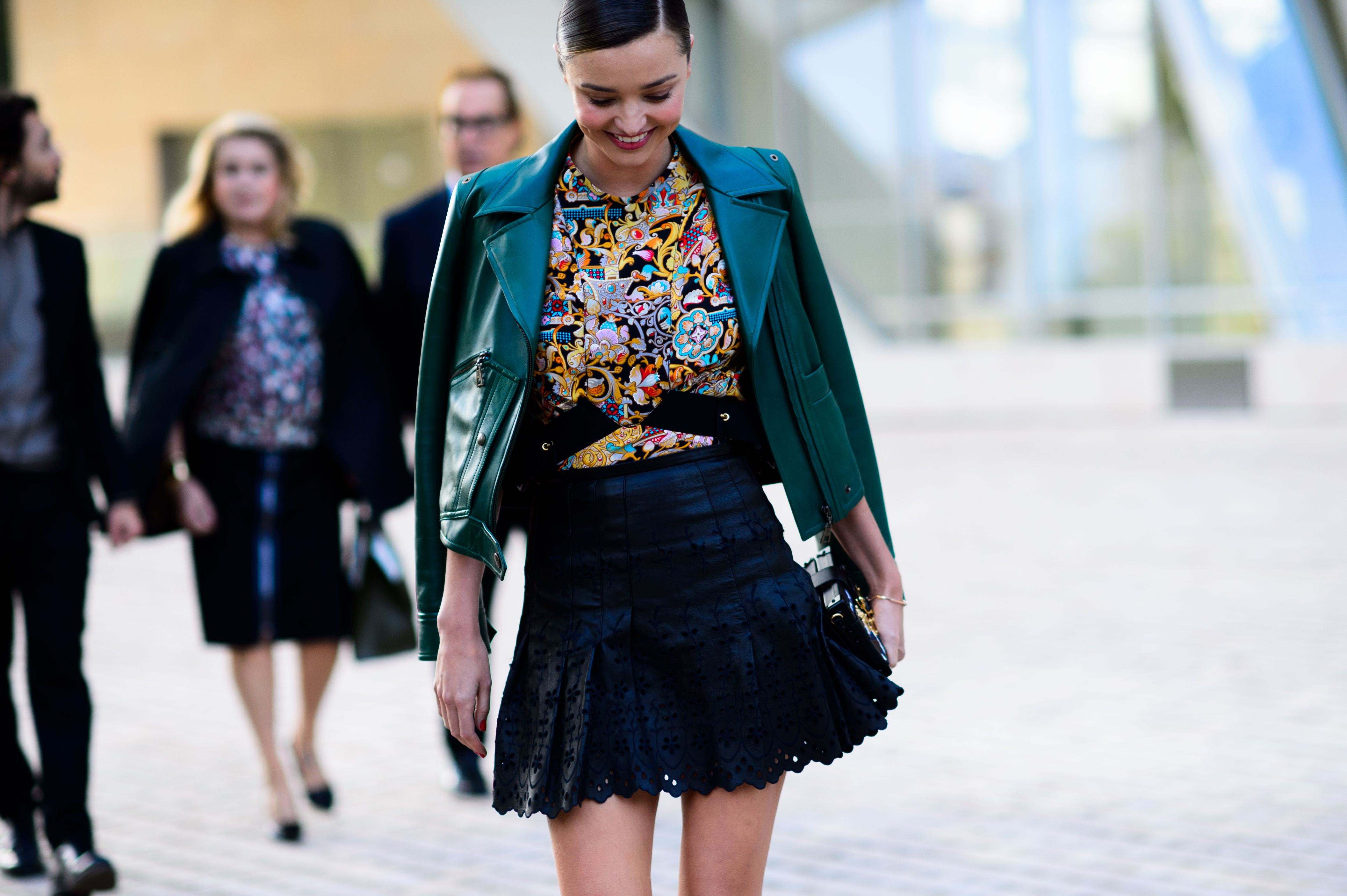 Miranda Kerr in Louis Vuitton. Photo: @le21eme