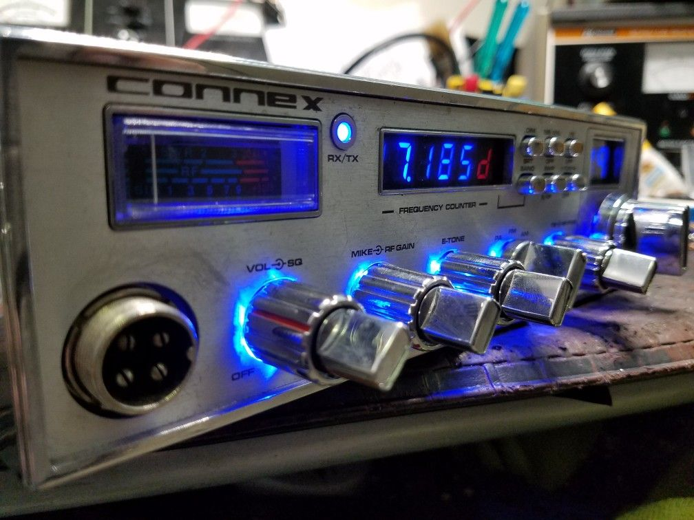 Connex cb radio custom knobs | CB Radio Huracan CB Shop