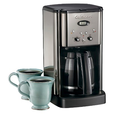 Cuisinart Brew Central 12 Cup Programmable Coffee Maker Stainless Steel Dcc 1200p1 Cuisinart Coffee Maker Miele Coffee Machine Coffee Maker With Grinder