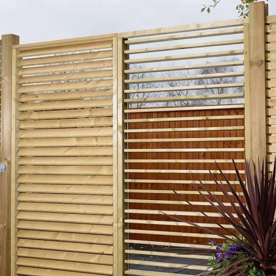 adjustable garden screen Fence design, Backyard privacy