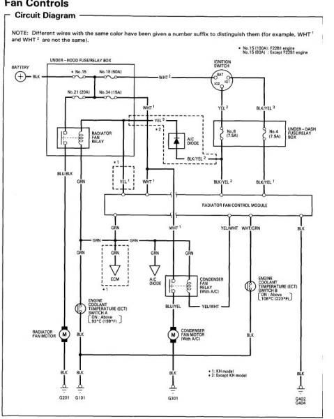 1994 Honda Accord Wiring Diagram Download  1994  Auto