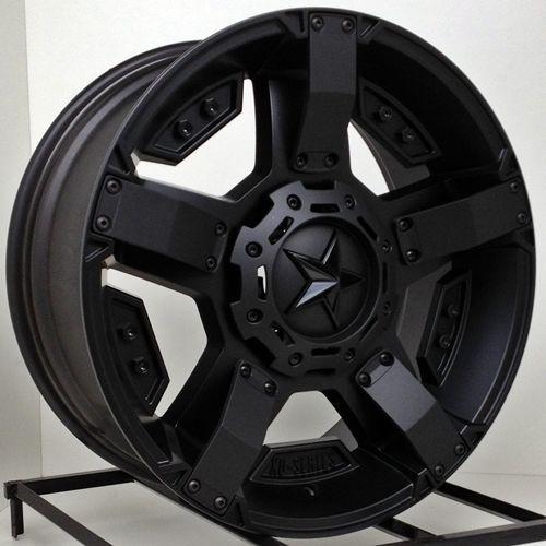 17 Inch Black Rims Wheels Chevy Truck Silverado 1500 Tahoe Suburban Avalanche Xd Black Rims Truck Black Wheels Wheel Rims