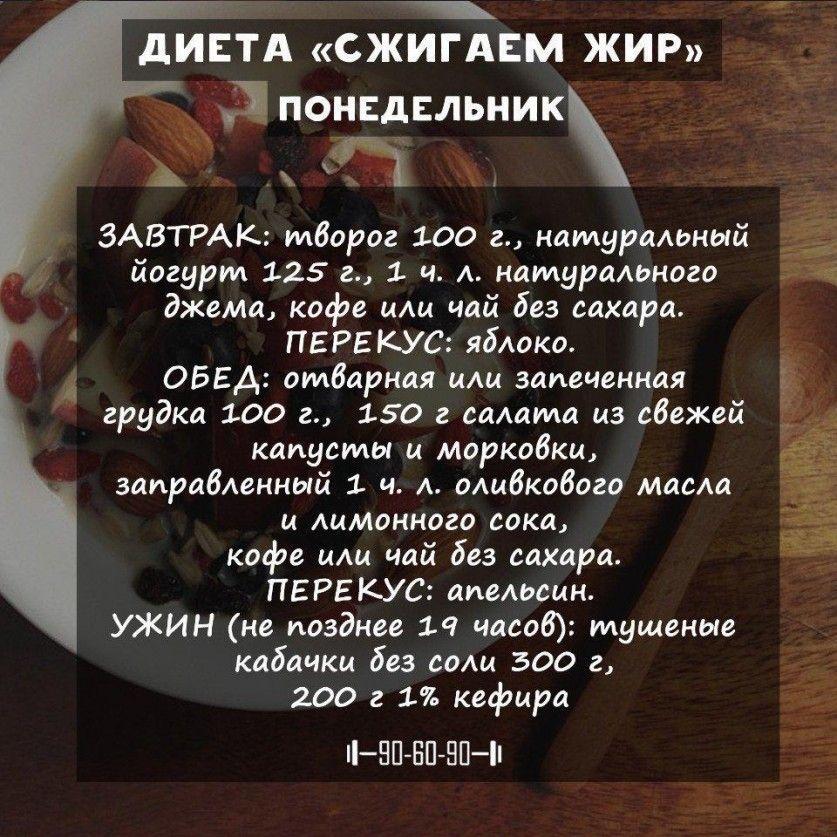 Диета простыми рецептами
