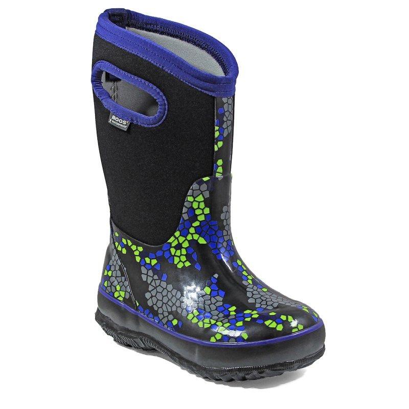 Bogs Kids' Classic Axel Winter Boot Toddler/Pre/Grade School Boots (Black Multi)