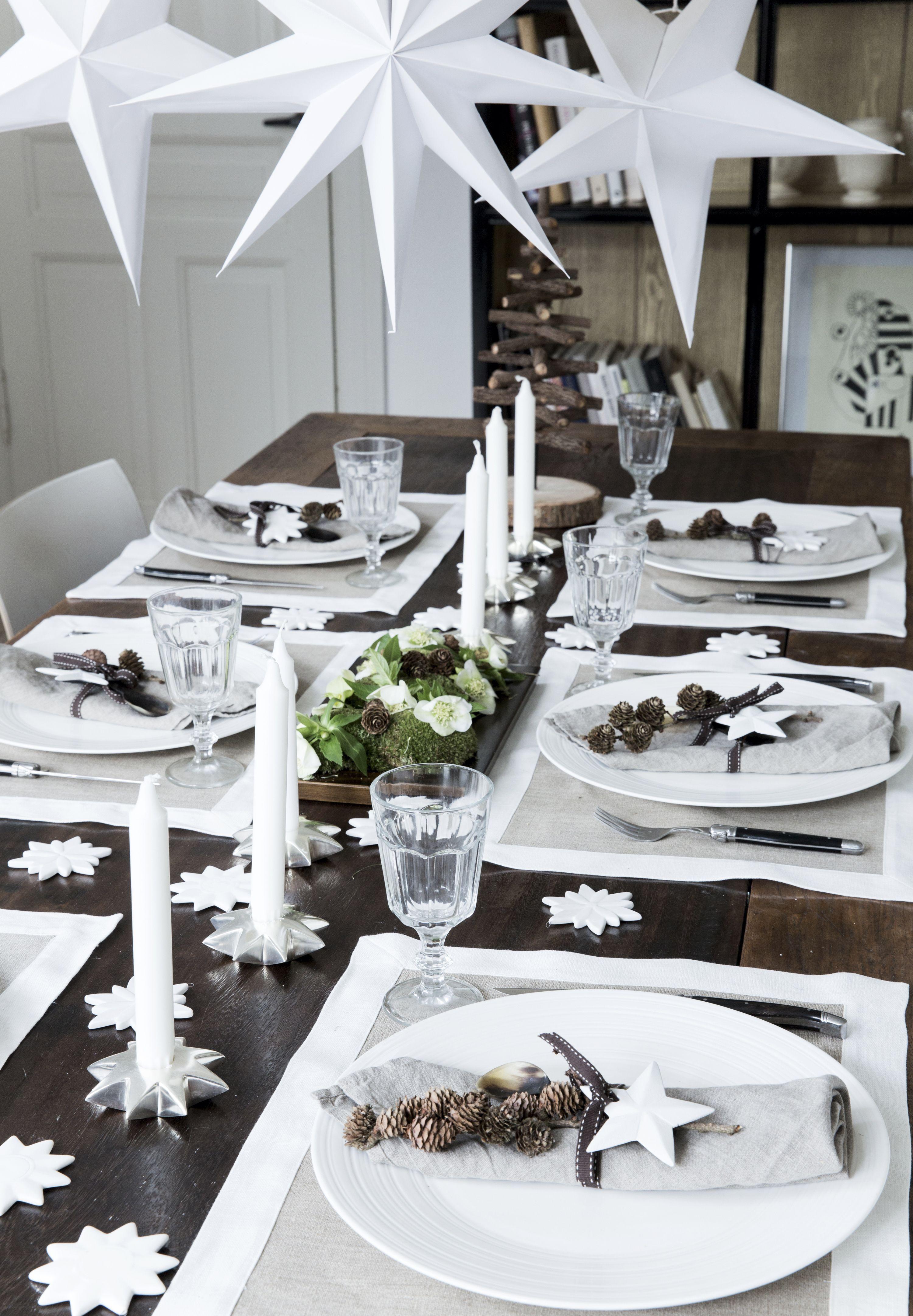Modedesignerens julebord Christmas