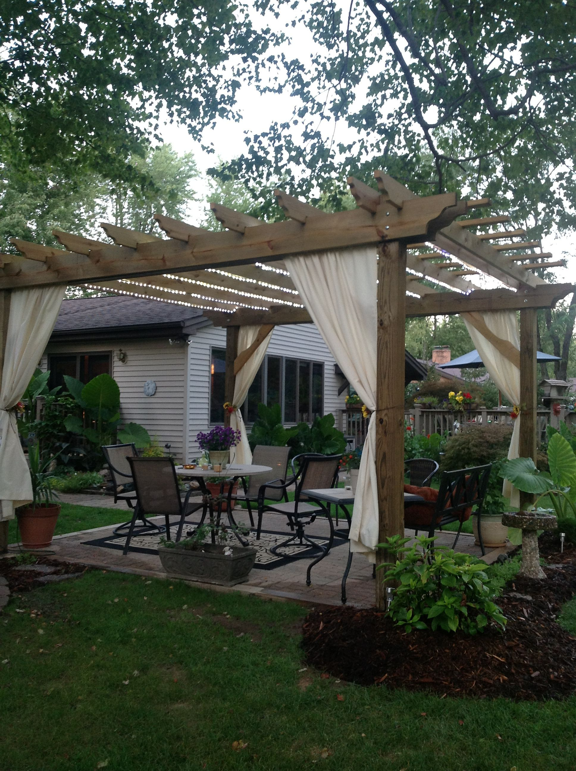 creating your own outdoor paradise - building a pergola to enjoy, Gartengerate ideen