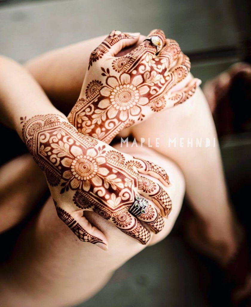 Stunning & Trending Back Hand Mehendi Designs For Brides!