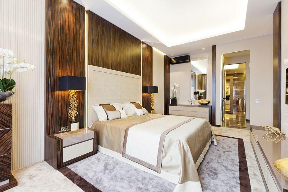 details bedroom Extravagant Taste, Discreet Luxury  Shape of Art