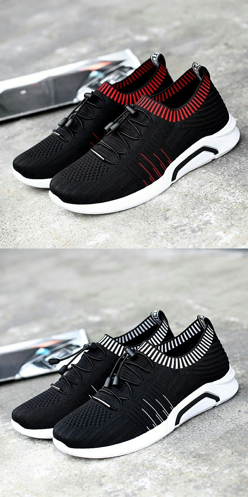 4a470970845a2 US  23.20 Prikol Swag Luxury Brand Summer Men Breathable Sport Shoes Tennis  Red Athletic Soft Sneakers