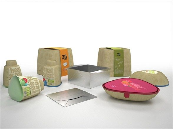 Il progetto Organic Pack #ied #design #ecopensiero