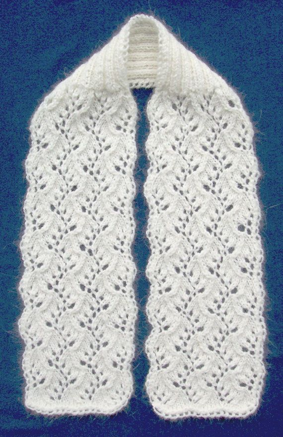 Traveling Vines scarf Knit ::: Shawls, Scarves and Cowls ...