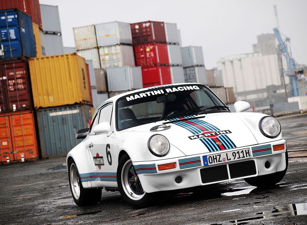 Porsch 911 Martini Racing