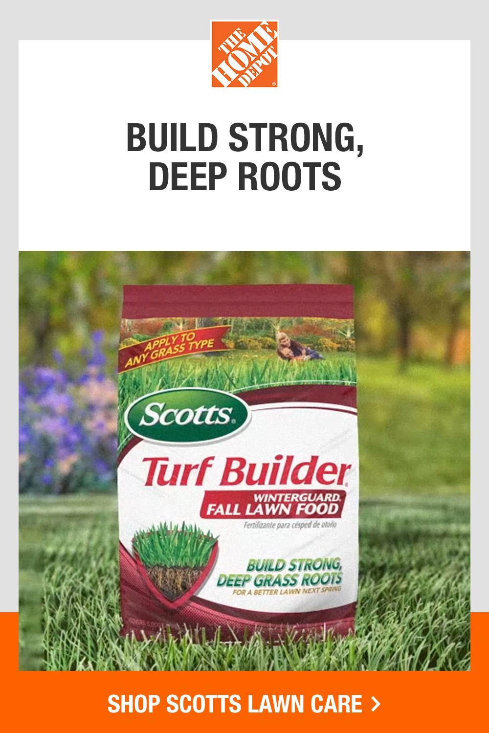 Grow A Better Lawn With Scotts From The Home Depot Scott Lawn Care Fall Lawn Care Spring Lawn Care