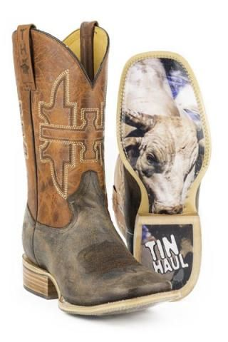 Cowboy Boots with Khakis