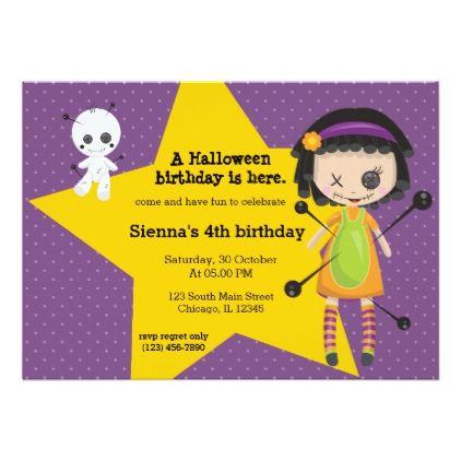Birthday Ideas Halloween