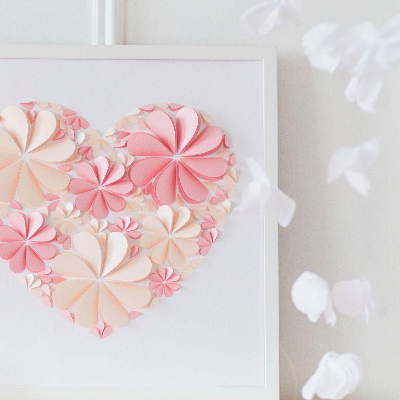 нужно только открытка сердечко с цветами из бумаги своими руками шестилетнем