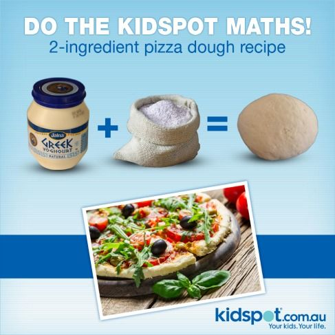 Pizza dough using only two ingredients... Greek yogurt and ...