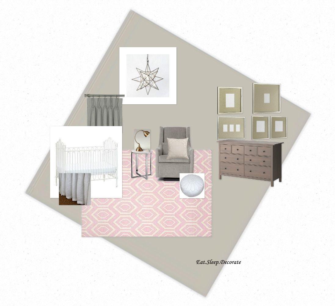 Eat. Sleep. Decorate.: Baby Girl Nursery Plan