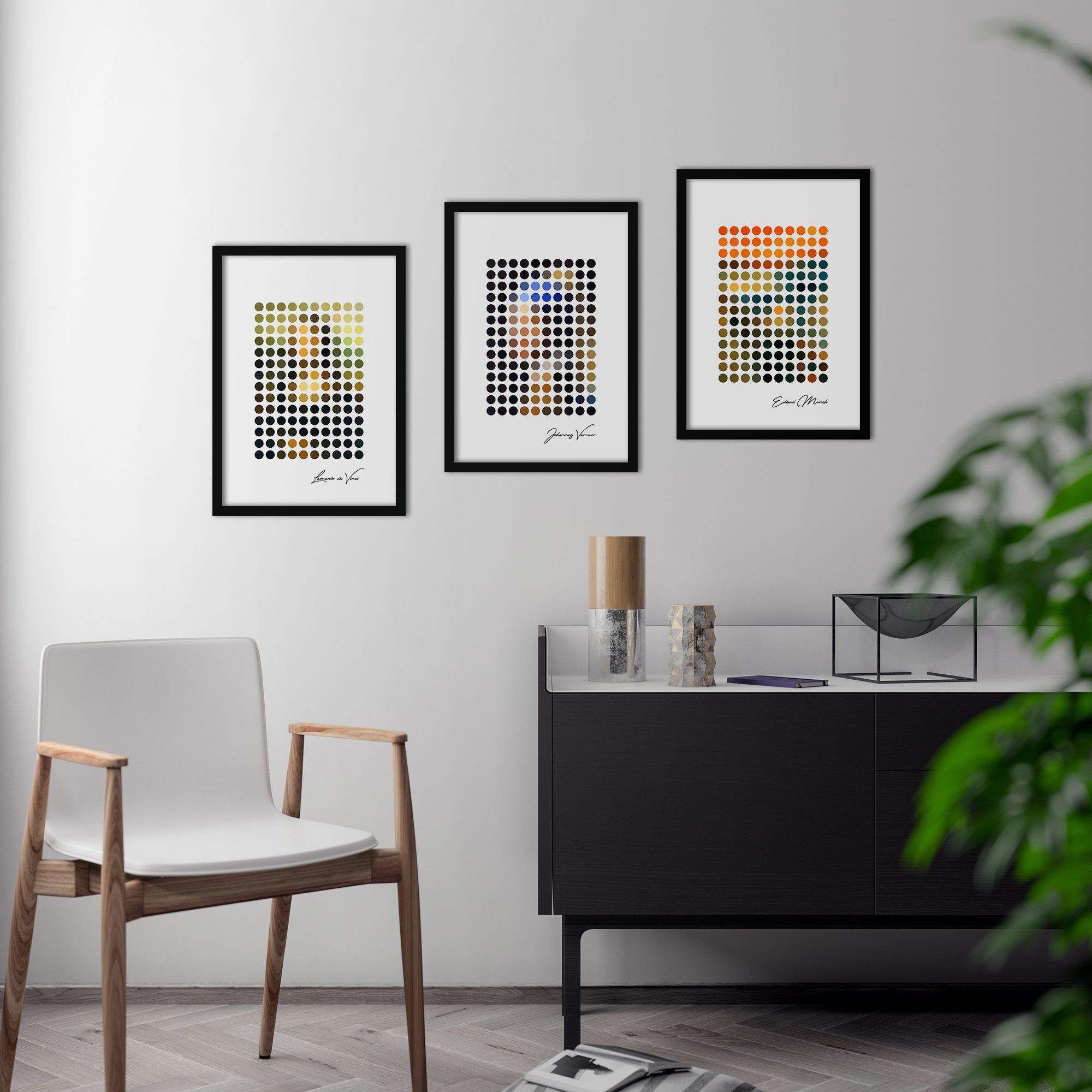 Photo of Dot Art – Poster Set – Small (21x30cm) / No