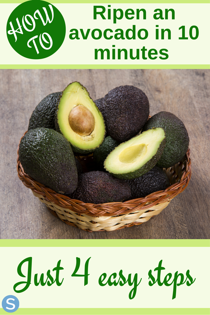 How To Ripen An Avocado In Just 7 Minutes  How to ripen avocados