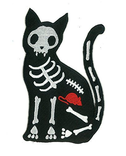x ray black cat skelanimals iron on patch psycho swami https www amazon com dp b012891mfc ref cm sw r pi dp 65rcxbab5gr4g