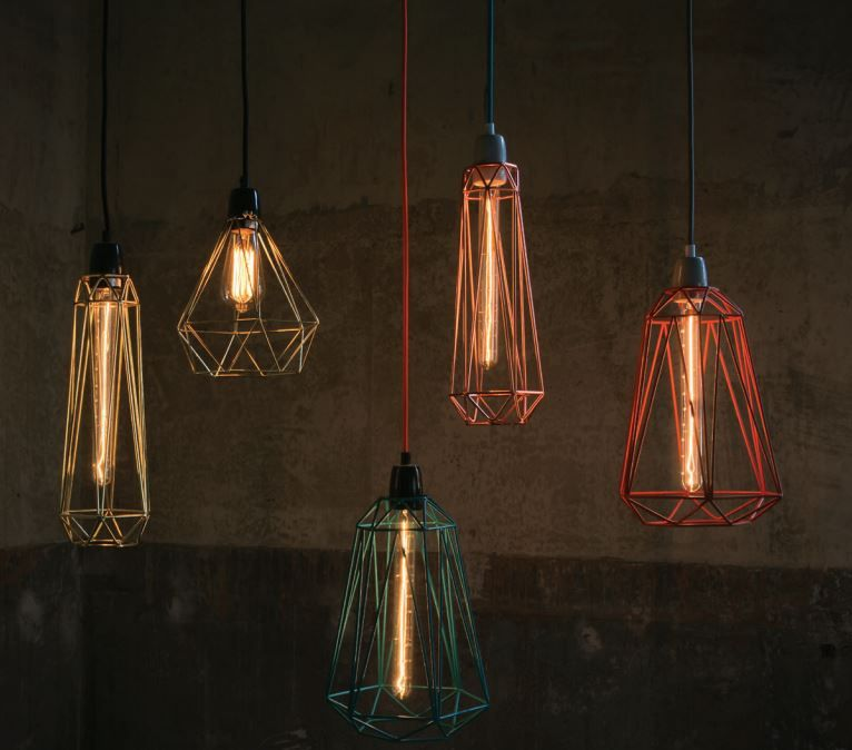 """archiproducts """" Metal handmade lamps available in 6 colours"""