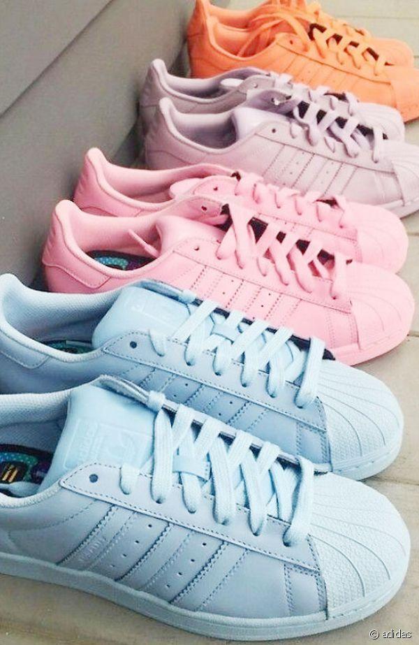 half off b82d1 2dcf2 Sélection baskets pastel. Sélection baskets pastel Pastel Shoes, Pastel  Clothes ...