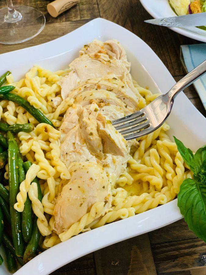 Instant Pot Olive Garden Italian Dressing Chicken The