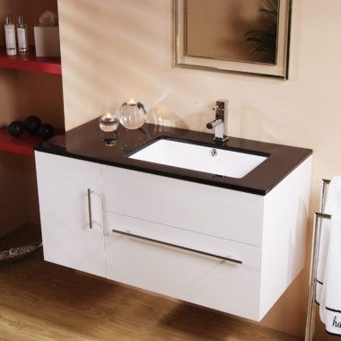 Lovely Wall Hanging Sink Cabinets