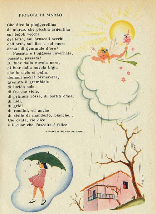 I quindici poesie e rime cerca con google i quindici italian vocabulary italian lessons e - Testo i giardini di marzo ...