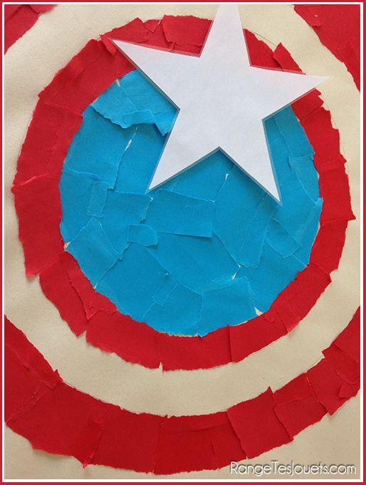 Un anniversaire de super h ros pour f ter ses 4 ans preschool birthday hero et captain america - Captain america fille ...