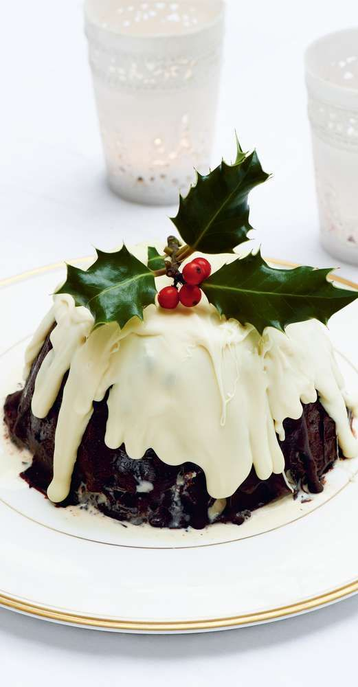 plum pudding bombe