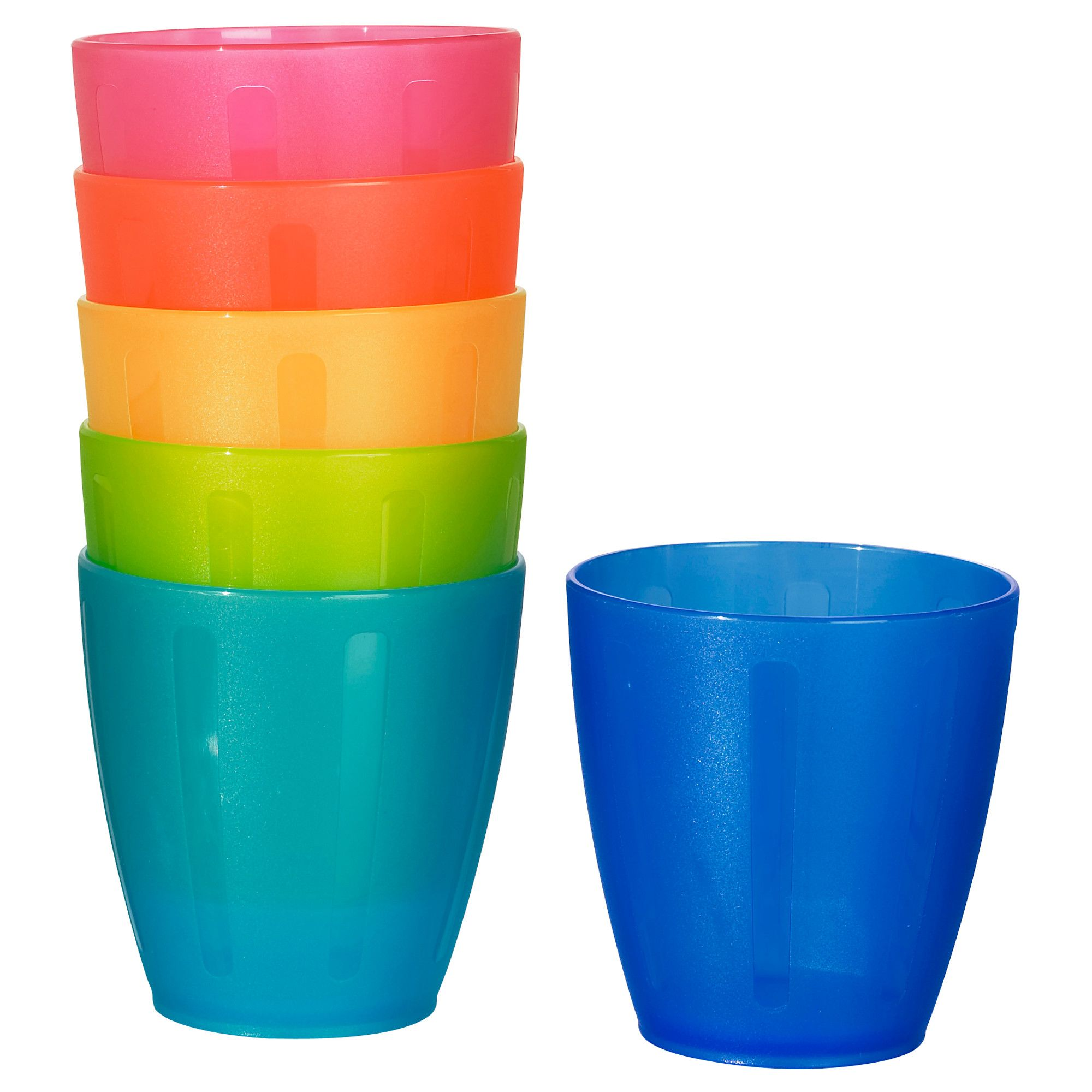 IKEA KALAS Plastic Bowl Sets Ideal For Kids Party Children Colour 6 pcs Pack