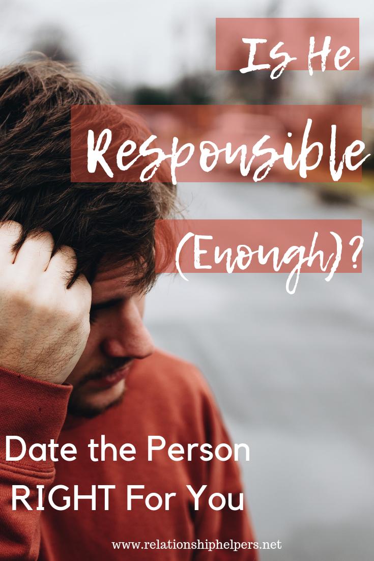Responsible dating