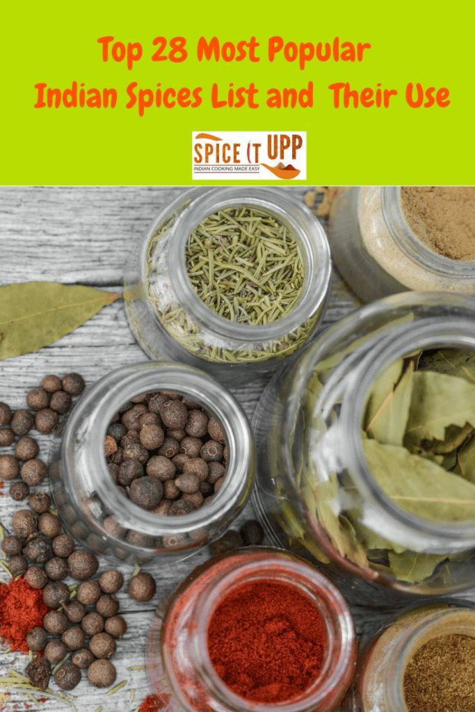 Top 28 Indian Spices List With Pictures and Their Use