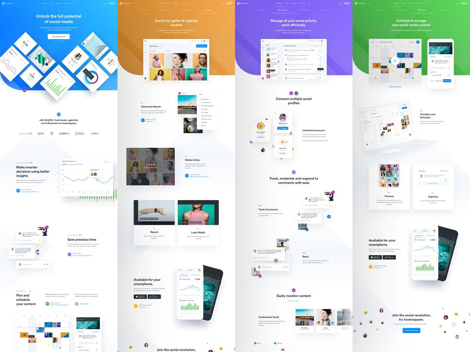 Ico Features All Web Design Website Design App Design