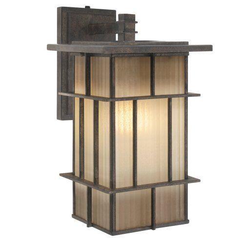 Golden Lighting 10705 L Wi Tucson Collection Outdoor Sconce By