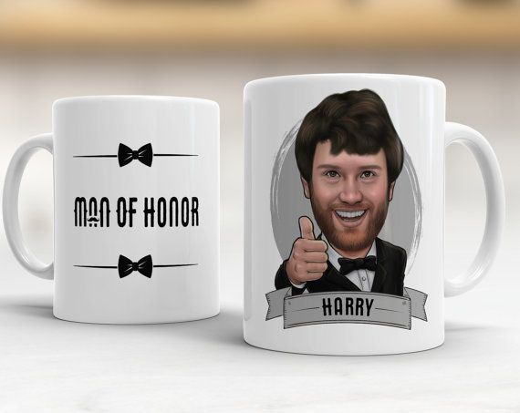 Thank You for Being Our Best Man Printed Mug Great Gift//Present Idea