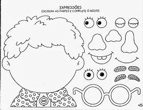Atividades de Artes - Educação Infantil - Expressões