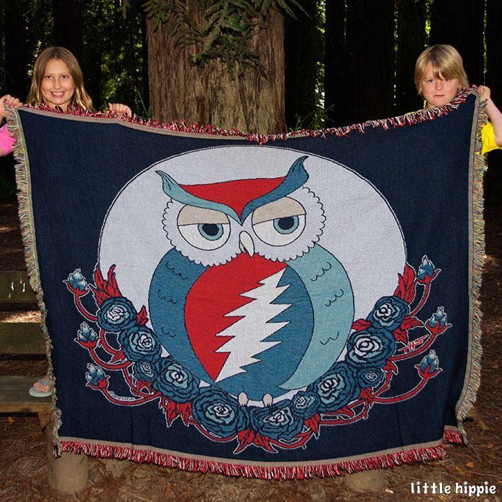 Resultado de imagem para owl blanket
