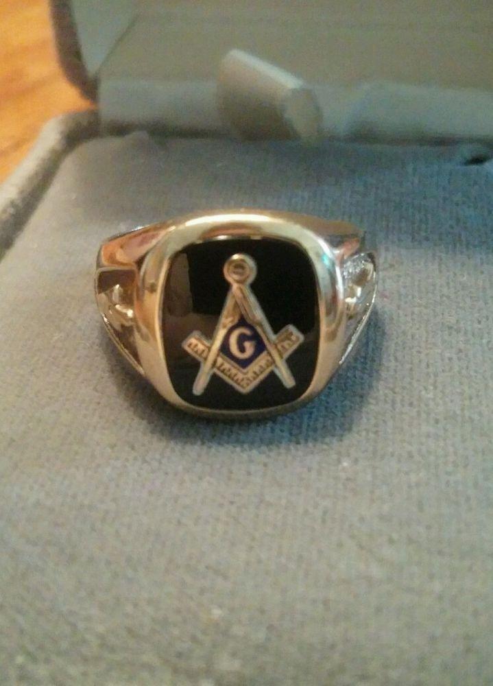 10k Gold 3rd Degree Blue Lodge Masonic Ring Blue Lodge Masonic Rings Masonic Ring Rings