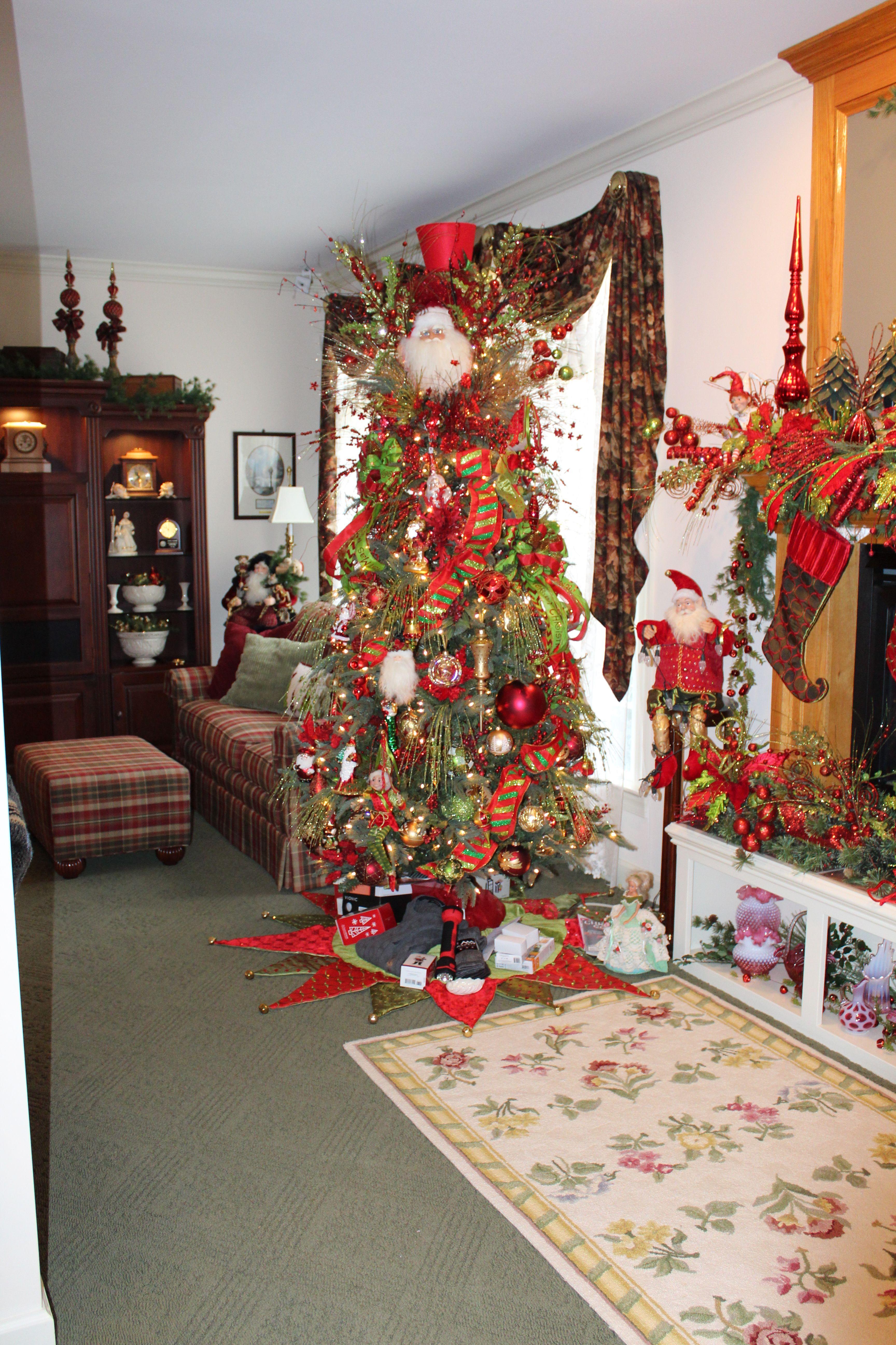 Family room 2014 Verna s Christmas Decorations