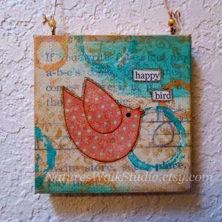 Natures Walk Studio: Happy Bird